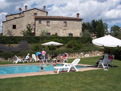 Photo for Tuscany. Lovely holiday home with swimming pool.