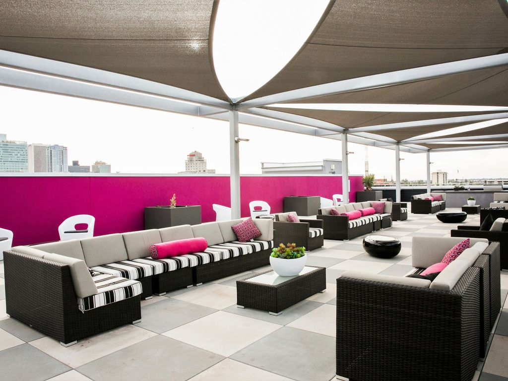 Rooftop Lounge with Amazing Views - Right on Roosevelt Row