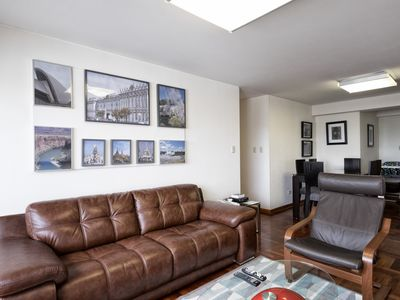 Photo for Modern 3BDRM Apartment with A/C in Miraflores