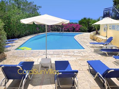 Photo for Exceptional Large Villa, Private HEATED POOL, Complete Privacy, Prime Location