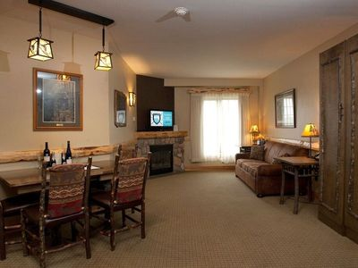 Photo for Access Pool, Hot Tub, Gym & Arcade |  Suite + Fireplace, On-Site Spa
