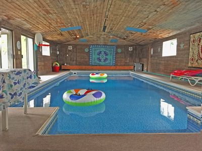 Photo for Fully Stocked Indoor Pool Home