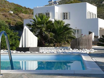 Photo for Family friendly villa (120 m²) with swimming pool, sauna, large garden