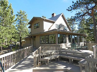 Photo for Georgious Mt. Home with Incrediable Views across from Wild Basin Entrance RMNP