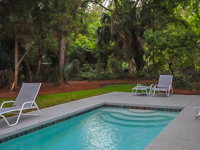 Photo for Charming Home on Kiawah Island with Salt-Water Pool & Large Screened Porch