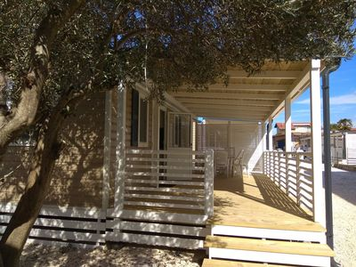 Photo for Mobile home in seaside private camp