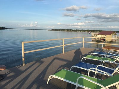 Photo for Great water front house overlooking Lake Brownwood