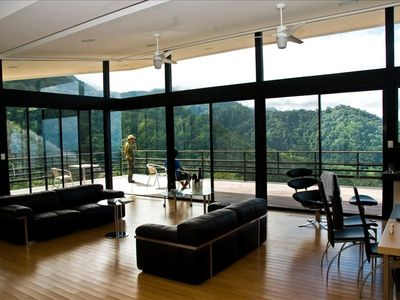 Photo for Luxury Home with Panoramic Ocean View in  Rain Forest.