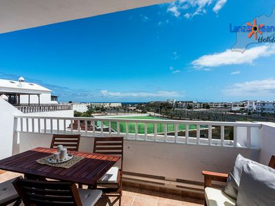Photo for Calima 2nd floor apartment in complex with pool in Costa Teguise