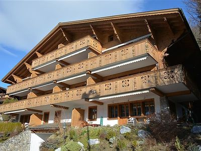 Photo for Apartment Drive (Nr. 3) in Gstaad - 6 persons, 3 bedrooms