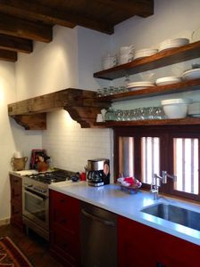 This is the new kitchen which we finished in Feb. of 2014.  All new everything.