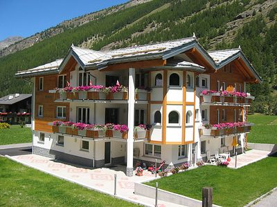 Photo for Vacation home Haus Alpenstern, Wohnung Trift  in Saas - Grund, Valais - 6 persons, 3 bedrooms