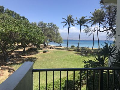 Photo for Maui Summer Savings! AC in bedrooms/sleep comfy and cool Right On The Beach