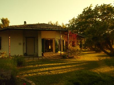 Photo for Cottage Colle San Paolo villa with park, view and swimming pool between Pescara and Chieti