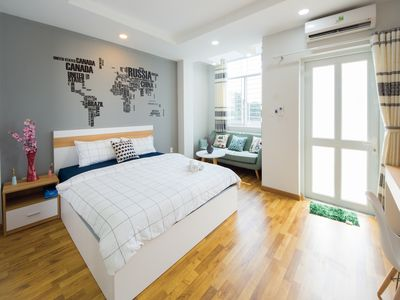 Photo for Lency Home 1-bedroom VERY NICE near Bui Vien Backpackers Street