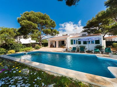 Photo for Beautiful Villa with private pool in Binibequer