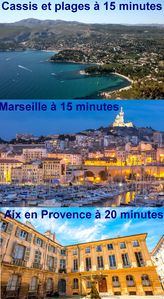 Photo for T2 ideally located for Cassis / Marseille / Aix-en-Provence, all in 15 minutes