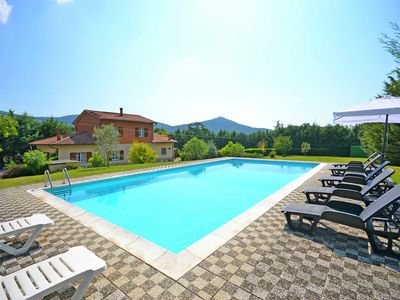 Photo for Villa with private swimming pool and bowling alley, hilly area