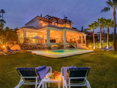 Photo for Country house in Marbella with Internet, Pool, Air conditioning, Parking (643511)