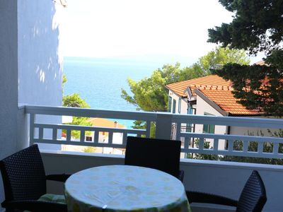 Photo for Two bedroom apartment near beach Mimice (Omiš) (A-2774-c)