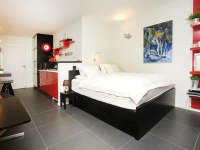 Photo for Sense the Quality at our fully equipped Studio just 3 min walk from the Beach