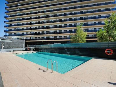 Photo for Lovely apartment for 4 people with A/C, WIFI, pool, TV and pets allowed