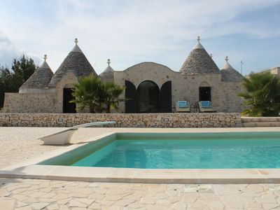 Photo for Restored Modernised Traditional Trullo With Own Pool And Close To The Adriatic