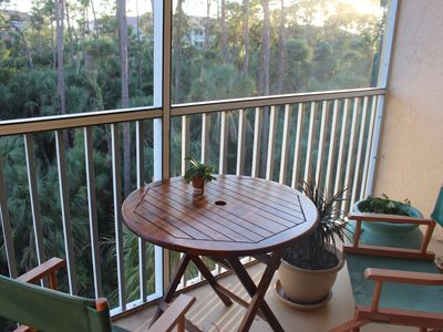 Photo for Quiet, peaceful condo on edge of preserve