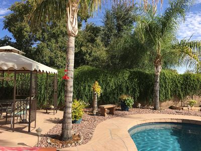 Photo for Desert Oasis- modern home in North Phoenix with stunning backyard & pool