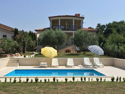Photo for Beautiful quiet holiday house with three apartments and pool