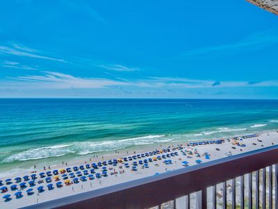 Photo for Now Booking 2019! 14th Floor Gulf Front Condo with AMAZING Views!
