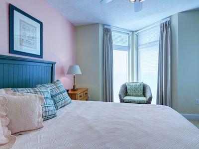Photo for Beach Front with Private Balcony! On-Site Check-in! Free Beach Chair Service Each Day!
