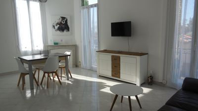 Photo for MENTON T2 FOR RENT 50 METERS FROM THE BEACH