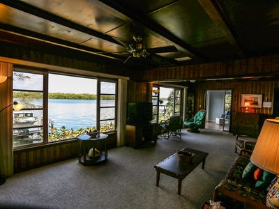 Photo for Welcome to 4851 Dolphin Lane. Location and bay views are the focal point of this amazing two-story waterfront duplex property.