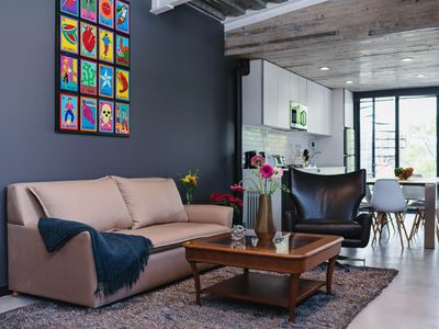 Photo for Industrial 1BR Penthouse with 2 terraces