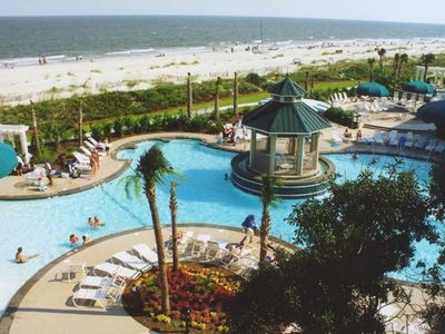 Photo for Easter Week on Beach in Hilton Head at Barony Marriott Villa