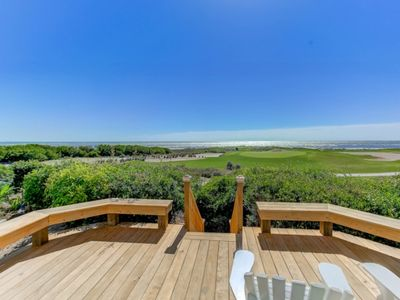 Photo for BOOK YOUR FALL VACATION NOW!  Renovated Oceanfront Home Overlooking the 18th Fairway of the Links Course!