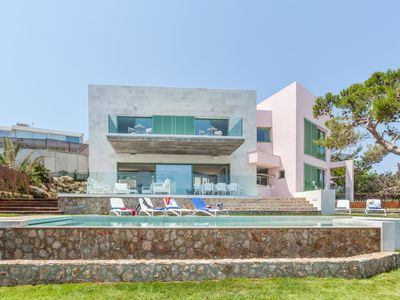 Photo for NEW LUXURY VILLA FRONTLINE WITH HEATED POOL