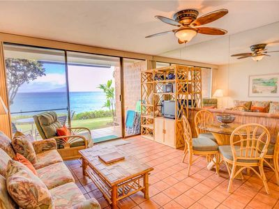 Photo for W Maui 1st Floor, Beach Front, Epic Ocean View Condo in Quiet Resort—1 BR/1BA