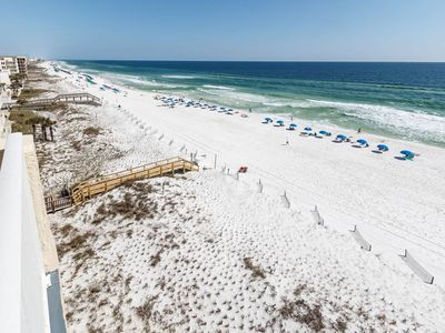 Photo for 7th Floor Large, Open Condo, Gulf Front Views, Close To Shopping & Dining