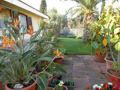 Photo for South Sardinia, apartment with garden