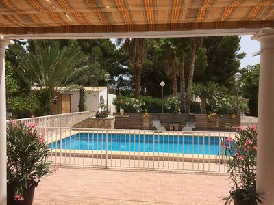Photo for OFFER Rural house with wooded garden and private pool 12 minutes from the beach