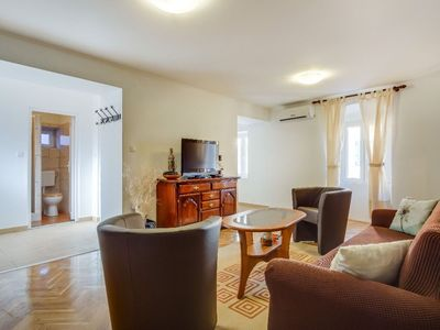Photo for Antonella  apartment in Veli Lusinj with WiFi, air conditioning & balcony.