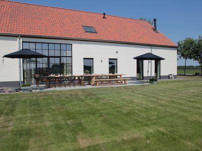 Photo for Unique, converted barn with every luxury; surrounded by nature and near the sea