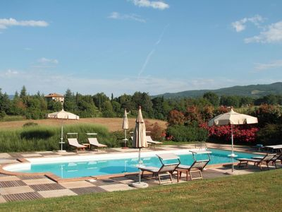 Photo for Stunning private villa with WIFI, private pool, TV, patio, pets allowed, panoramic view and park...