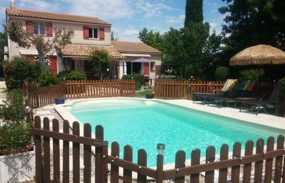 Photo for House / Villa - Entraigues sur sorgue ,near Avignon,with flowers and trees