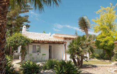 "Photo for Modern Holiday Home ""Casa Enriqueta"" with Sea View, Wi-Fi, Garden, Terraces & Pool; Parking Available"