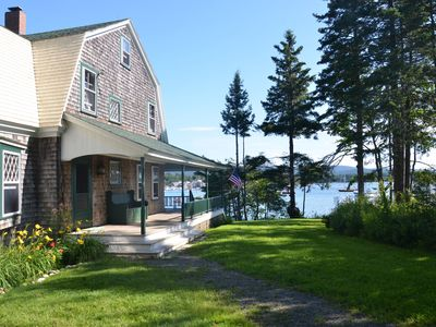 Photo for Waterfront Cottage, Newly Renovated 100 Year Old Home