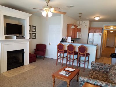 Photo for Smith Mountain Lake Waterfront Condo  Come for a visit...enjoy your stay!