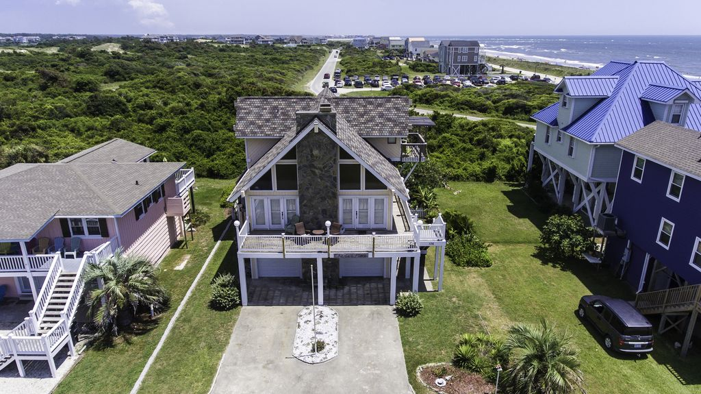 Holden Beach House Al Front Of The
